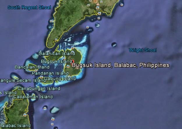 Bugsuk Island, Balabac, Palawan