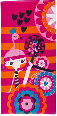 Tuc Tuc Flamingo - Girls Beach Towel
