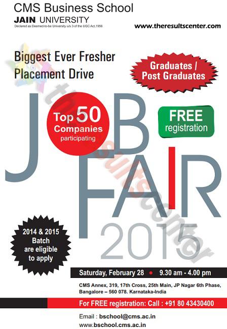 CMS Job Fair 2015