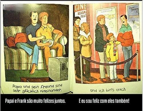 Revista cria historia em quadrinhos para tratar de homossexualidade nas escolas