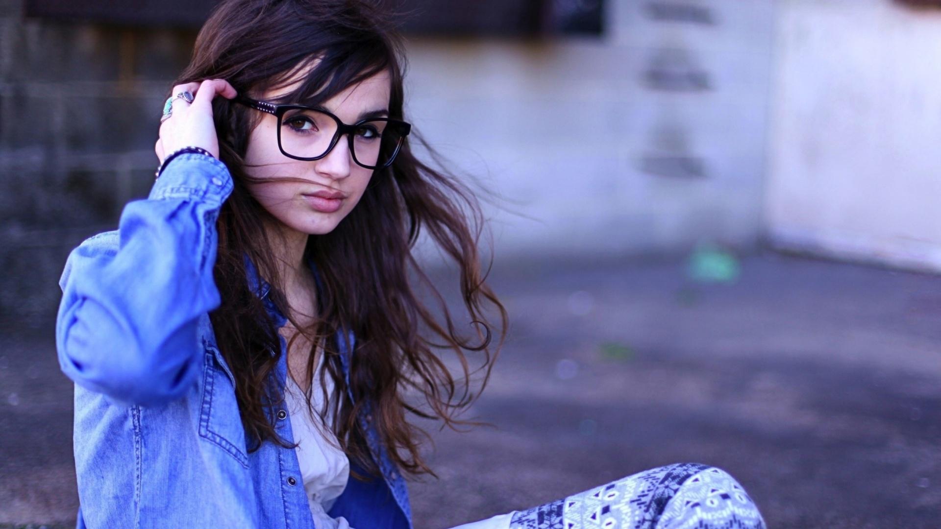 cute girl glasses wallpaper -#main