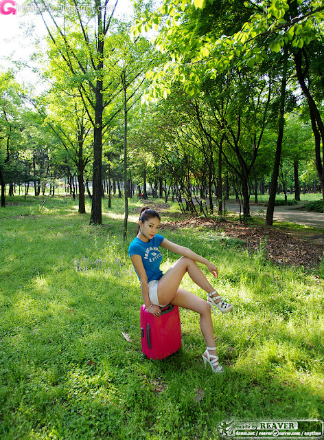 9 Lee Eun Seo - Sexy Outdoor-very cute asian girl-girlcute4u.blogspot.com