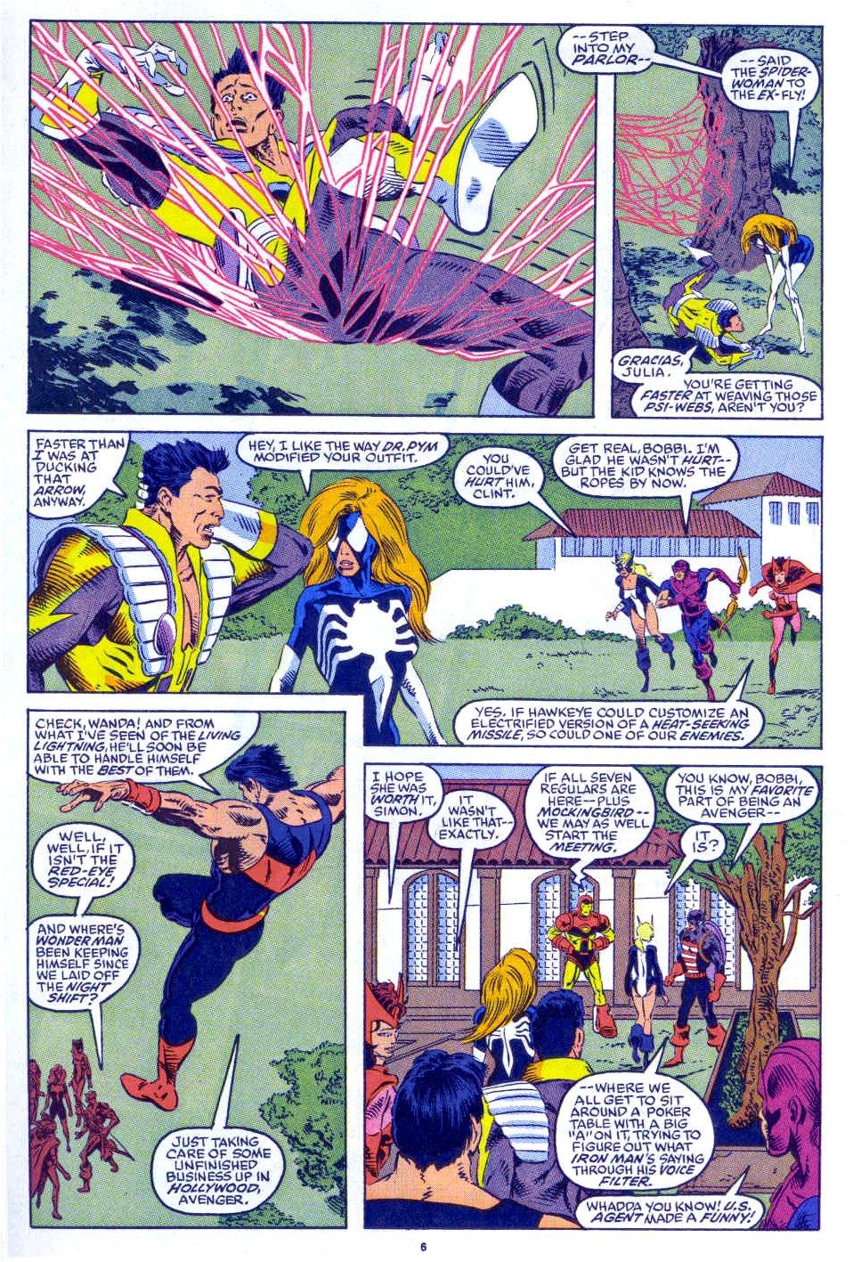 Captain America (1968) Issue #398b #332 - English 6