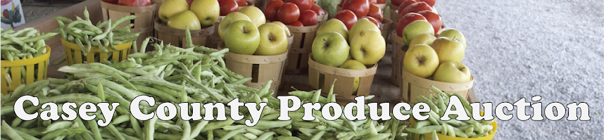 Casey County Produce Auction