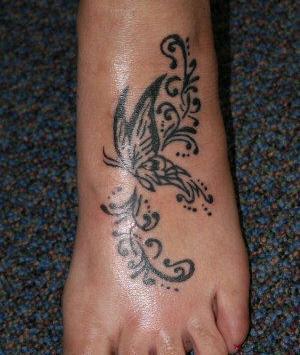 Fotos de Tattoos nos Pés