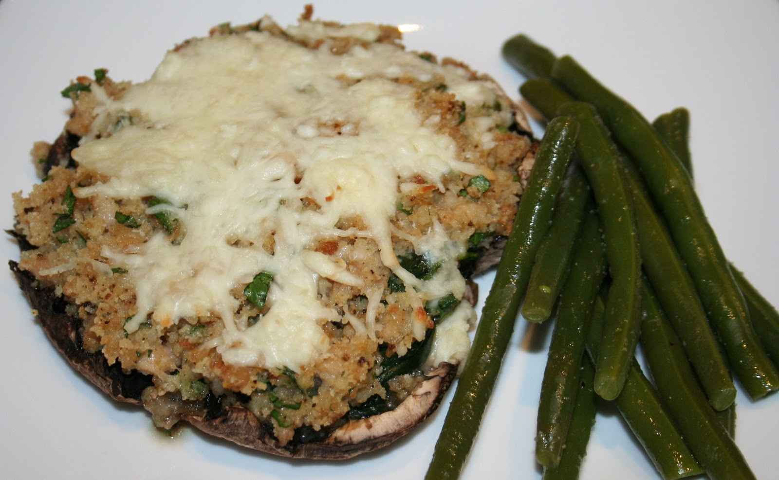 Note: Clam and spinach stuffed mushrooms can be prepared ahead of time ...