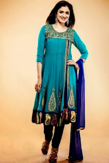 Open-Shirts Anarkali Suits