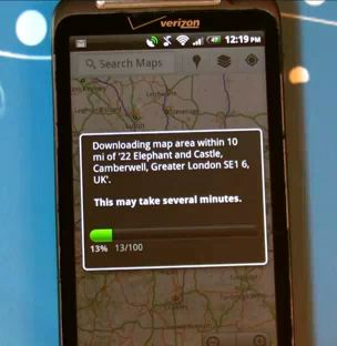 Offline Google Maps Android