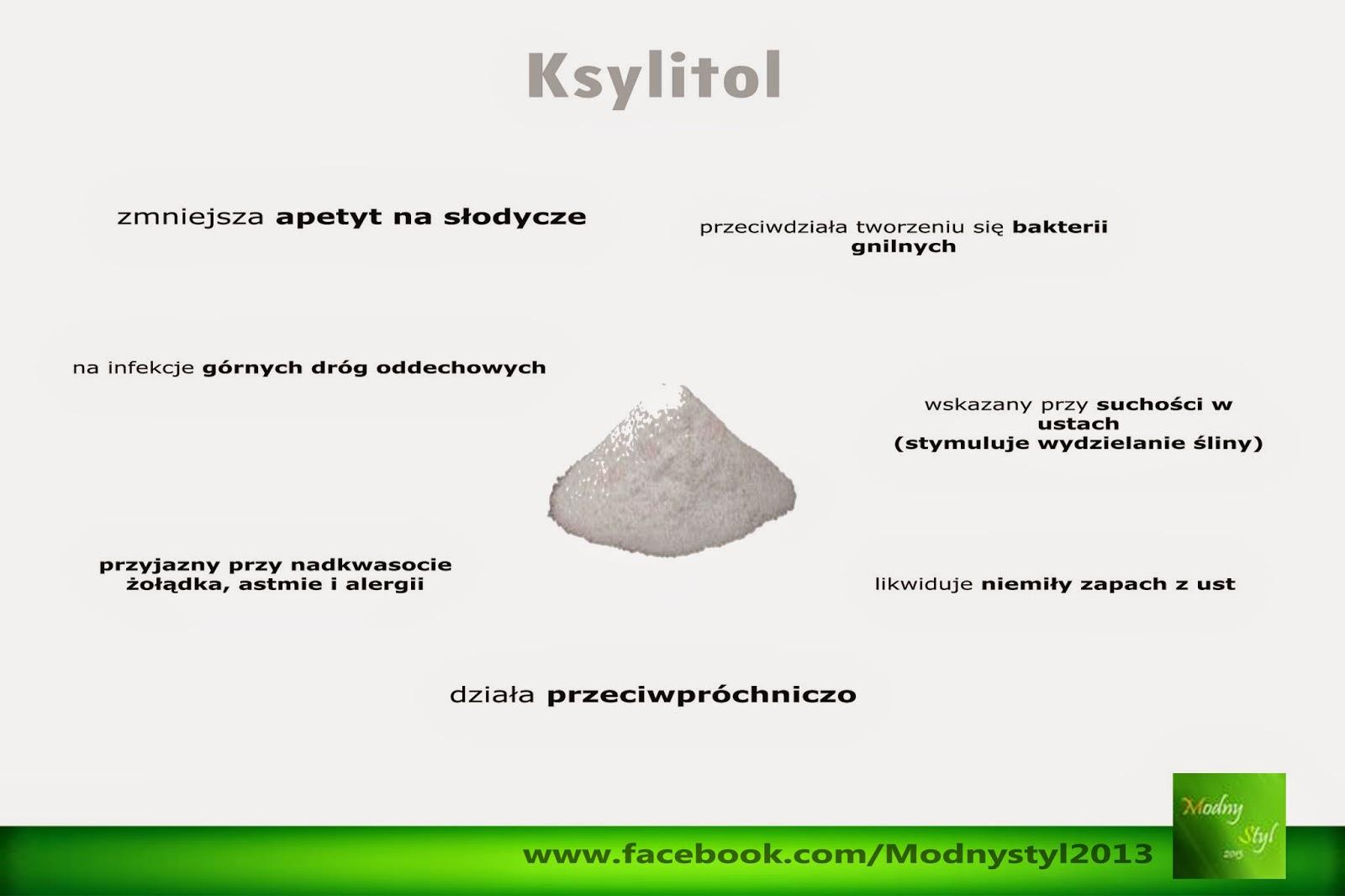 Ksylitol - cukier pochodzenia naturalnego pozyskiwany z brzozy