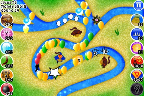 Bloons Tower Defense (Original)