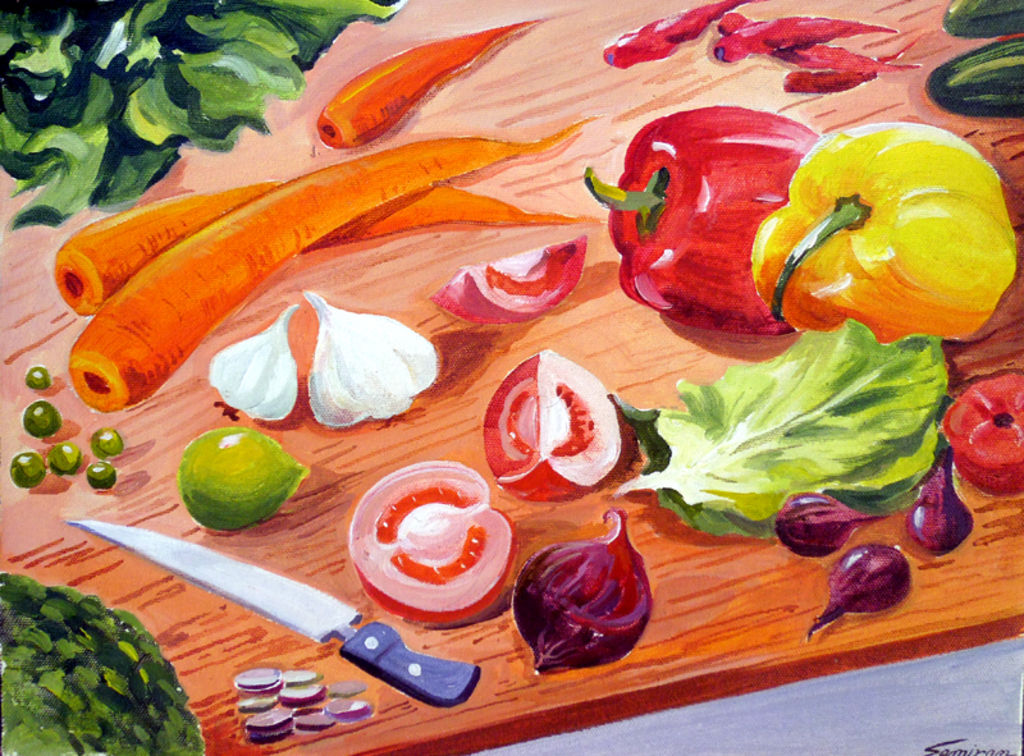 Vegetables Composition - Samiran Sarkar