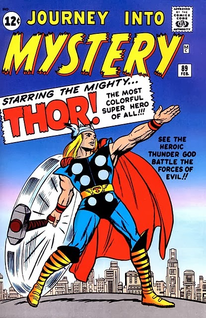 Journey Into Mystery #89 comic book