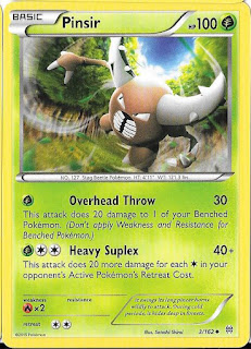 Pinsir BREAKthrough Pokemon Card