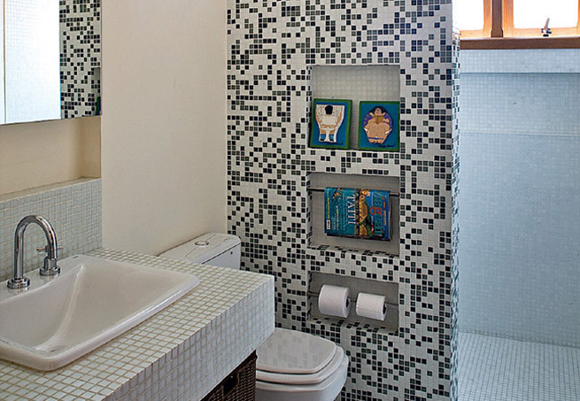 revista decoracao kitnet : revista decoracao kitnet:Cama Soft – Roupas de Cama em Malha Soft: Cubas para banheiro!