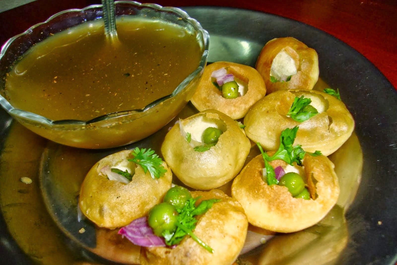 Appointment Seven Bungalows pani puri