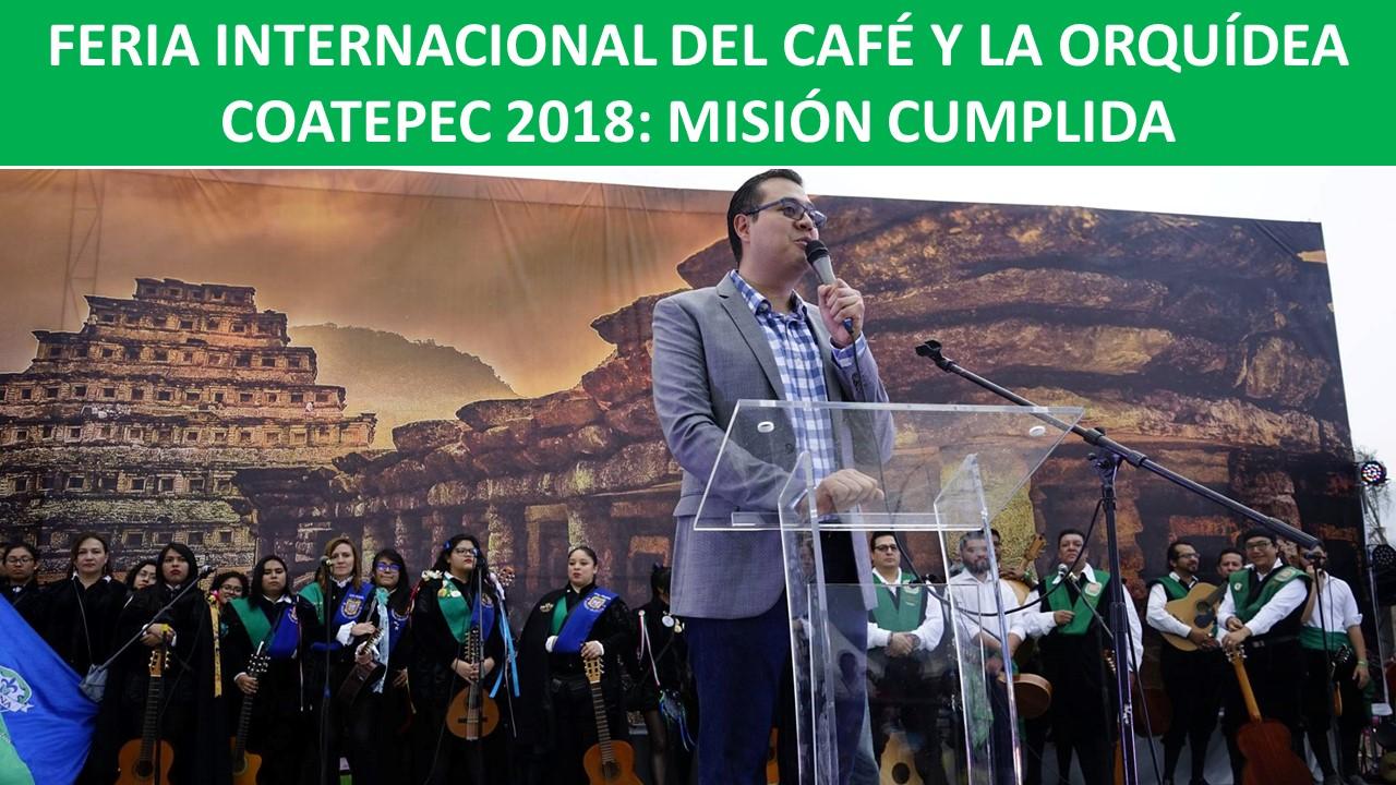 COATEPEC 2018: MISIÓN CUMPLIDA