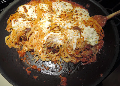 how to make baked spaghetti and meatballs
