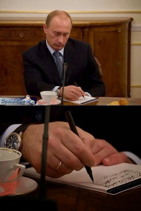 funny celebrities Putin picture