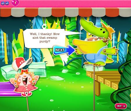Candy Crush Saga 411-425 ending