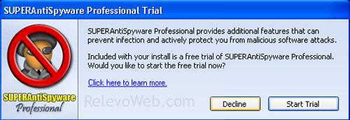 Instalando SUPERAntiSpyware, programa anti-espías