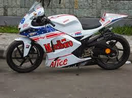 megapro modifikasi full fairing