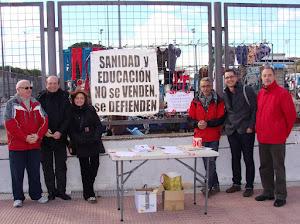 CCOO PARTICIPA EN LOS ACTOS INFORMATIVOS (MERCADILLO)
