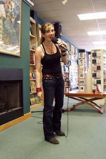 Maggie talking