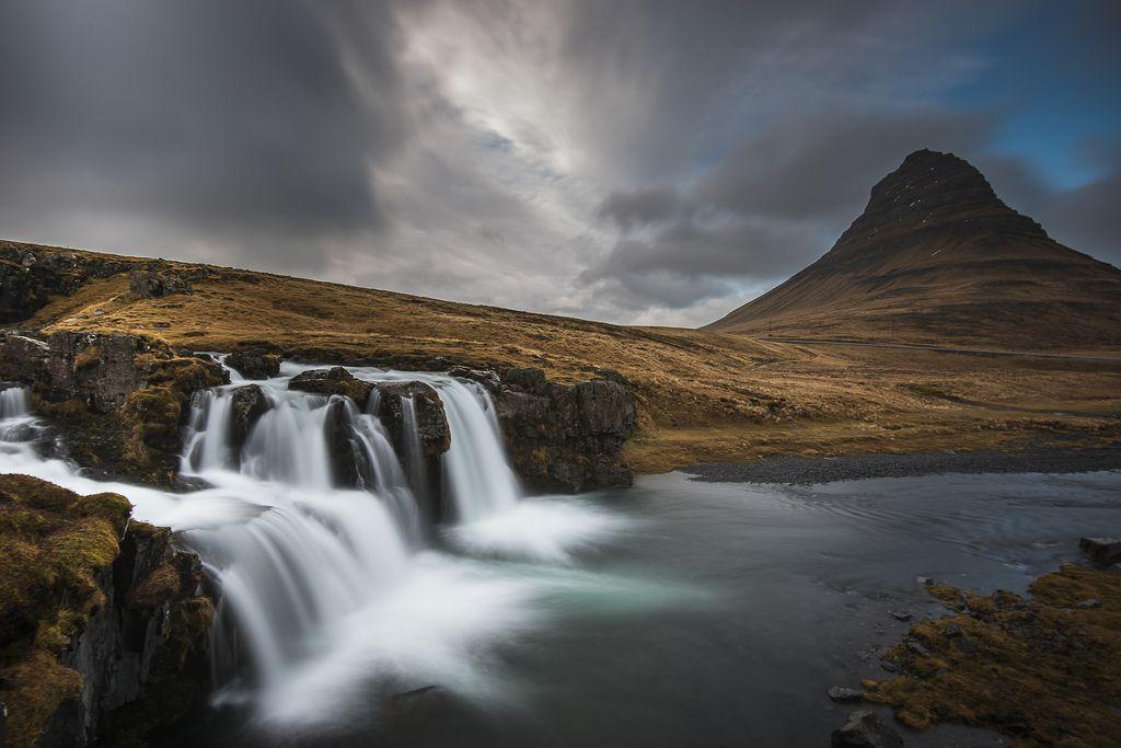 22. Kirkjufell Iceland Waterfall