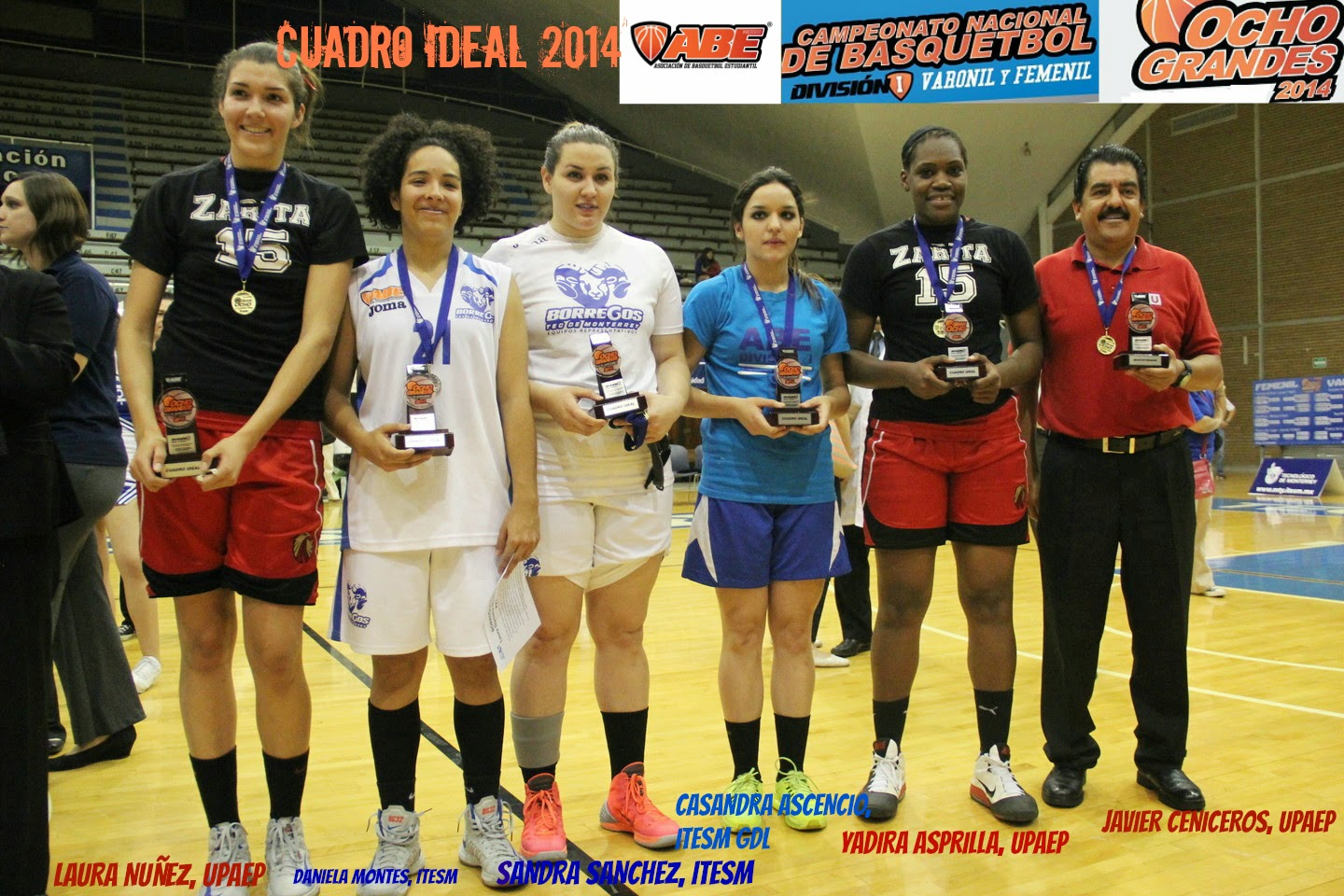 Equipo Ideal de la ABE femenil