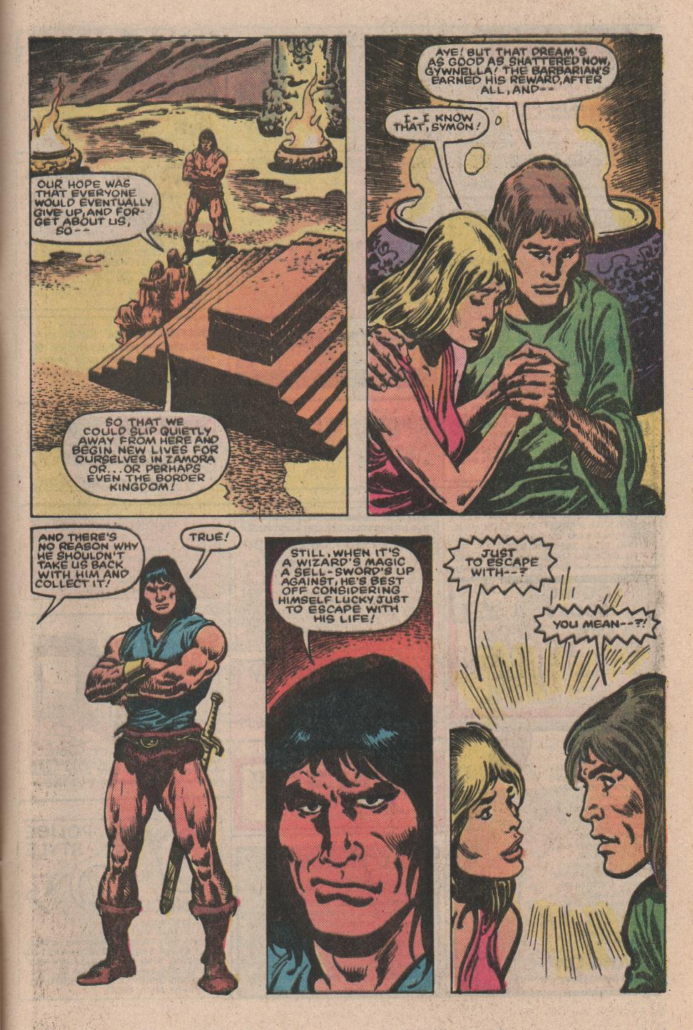 Conan the Barbarian (1970) Issue #157 #169 - English 21