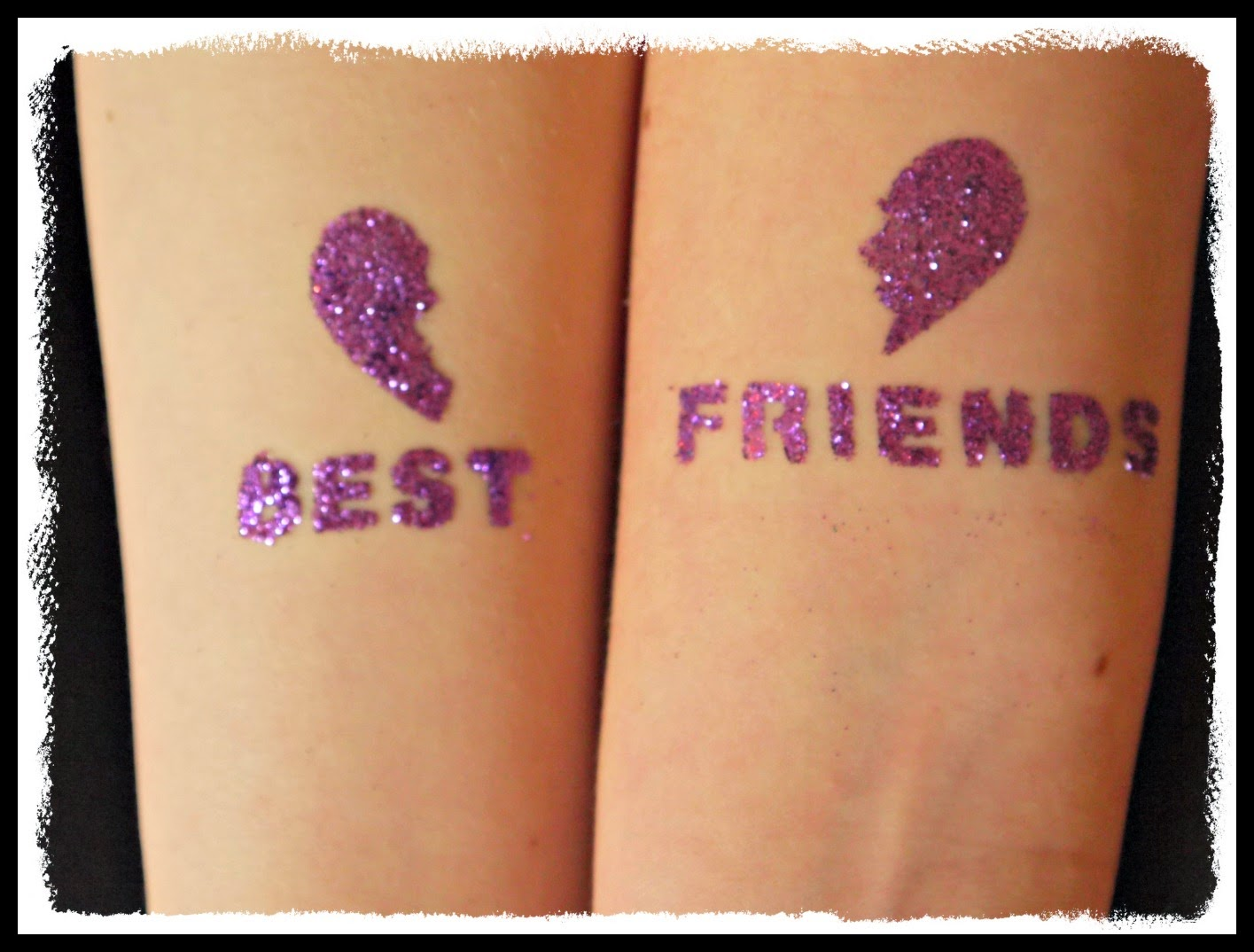 glitter tattoo, Interplay