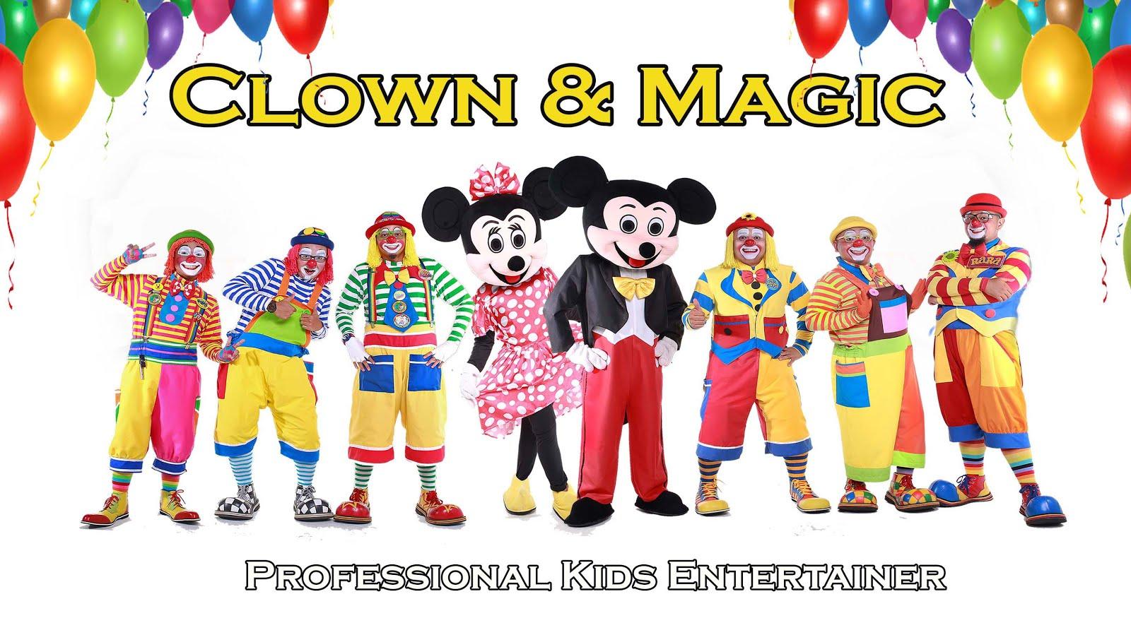 Clown Badut Service in KL SHAH ALAM KLANG VALLEY - MALAYSIA