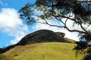 Pedra da Tartaruga, formação rochosa localizada no Parque Natural Municipal Montanhas de Teresópolis