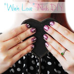 With Love Nail DIY
