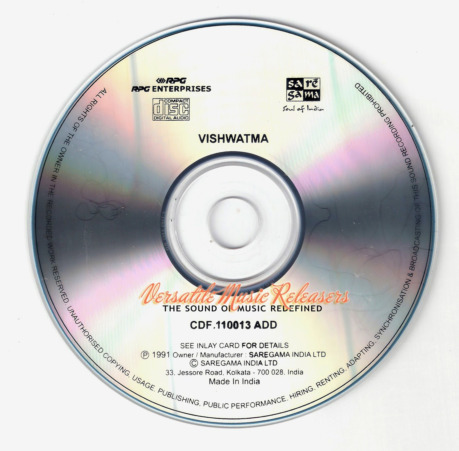 Saat Samundar Paar Baaghi 2 Song Download: ALL SONGS FREE DOWNLOAD AND LISTEN ONLINE: Vishwatma (1992
