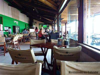 Caranguejo de Sergipe: Ambiente da unidade de Patamares durante o dia