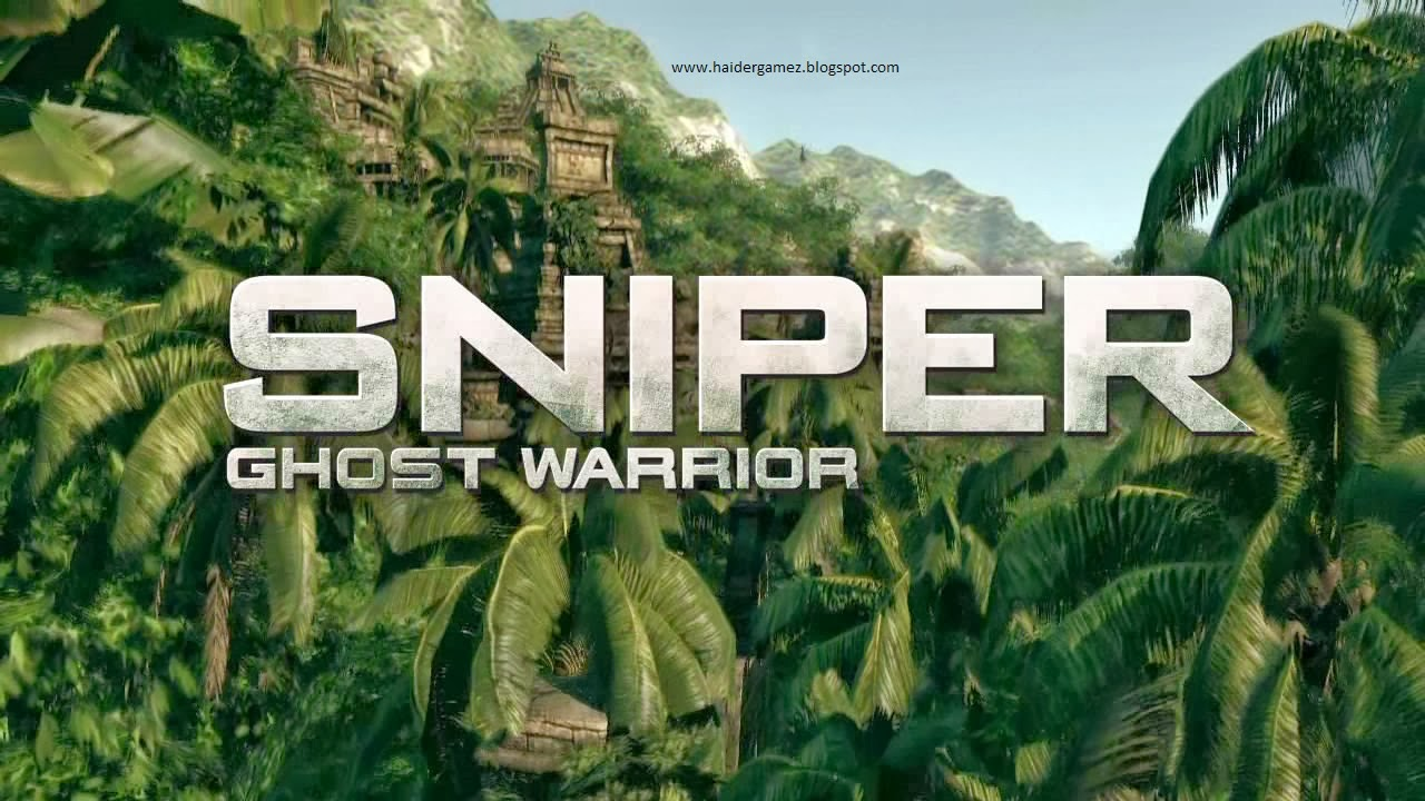 Free download Sniper Ghost Warrior Game for PC