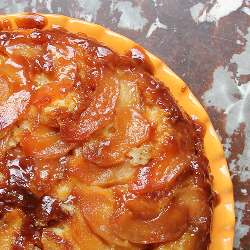 Cookistry: Whole Foods Friday: Caramel Apple Upside-Down Cake