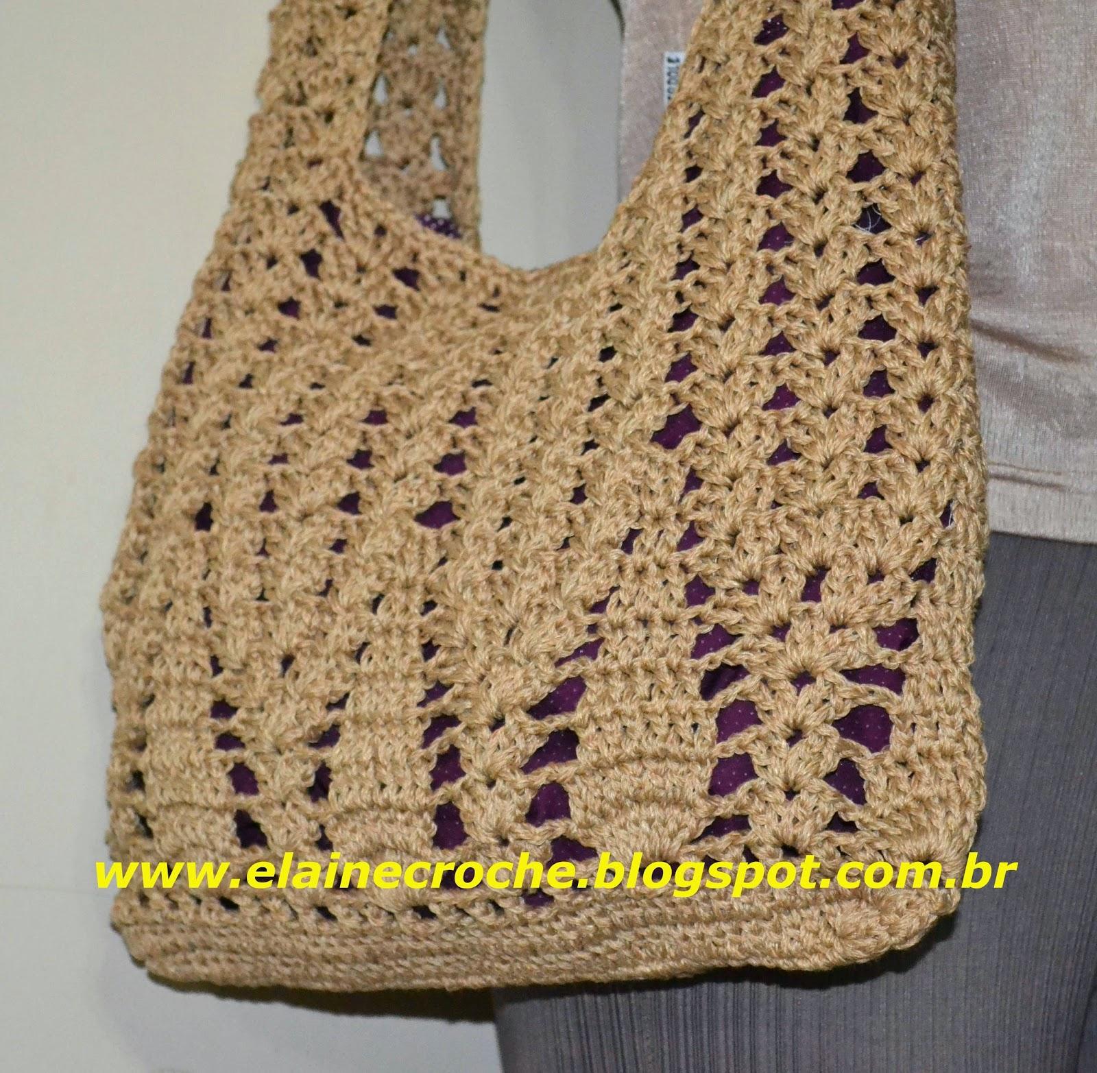 Bolsa De Festa Em Croche Passo A Passo : Elaine croche bolsa susi em croch?