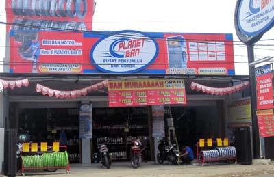 Planet Ban Pusat Ban Sepeda Motor