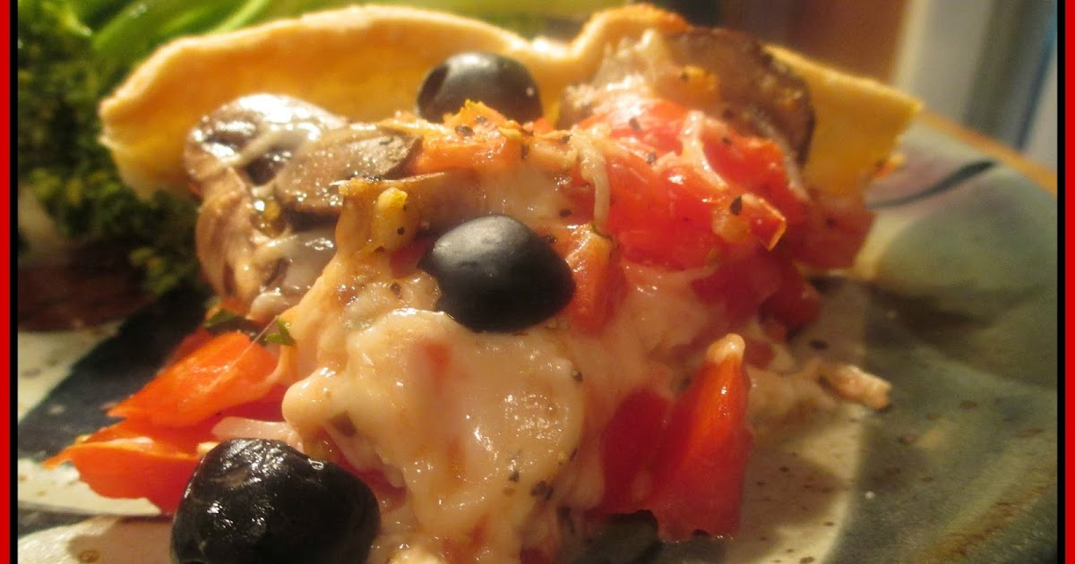 Healing Woman: FRENCH TOMATO PIE