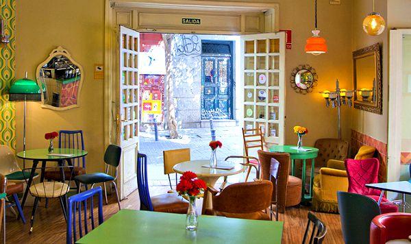 Cafeterias Muy Vintage En Madrid Vintage Home Style