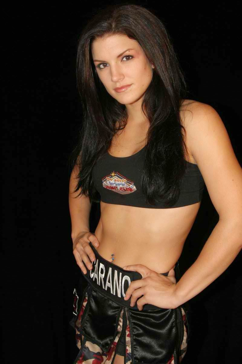 Gina Carano - hottest American athlete ranked 4th