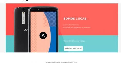 Diseño del Smartphone Lucas