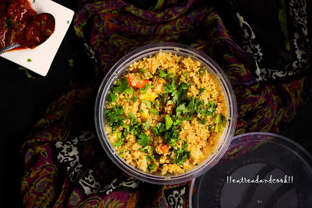 how to cook vegetable dalia upma recipe