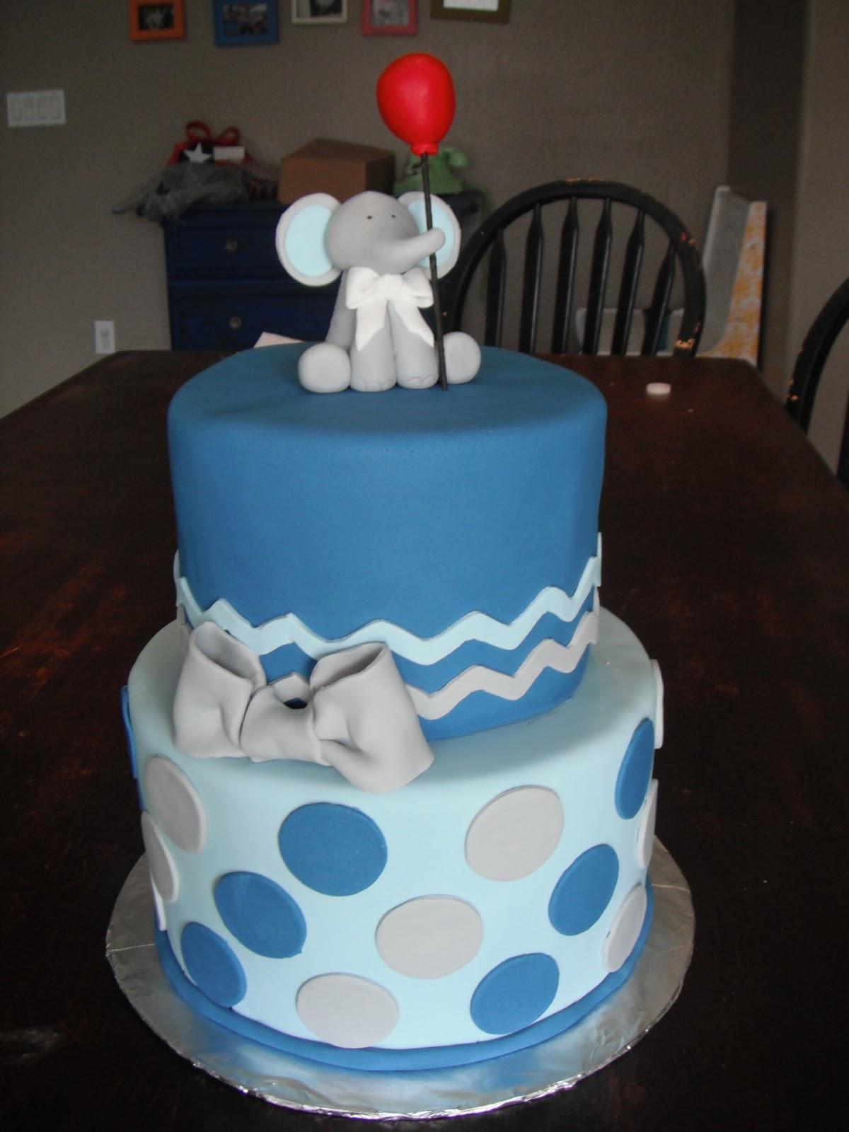 cassy 39 s cakes elephant baby shower cake