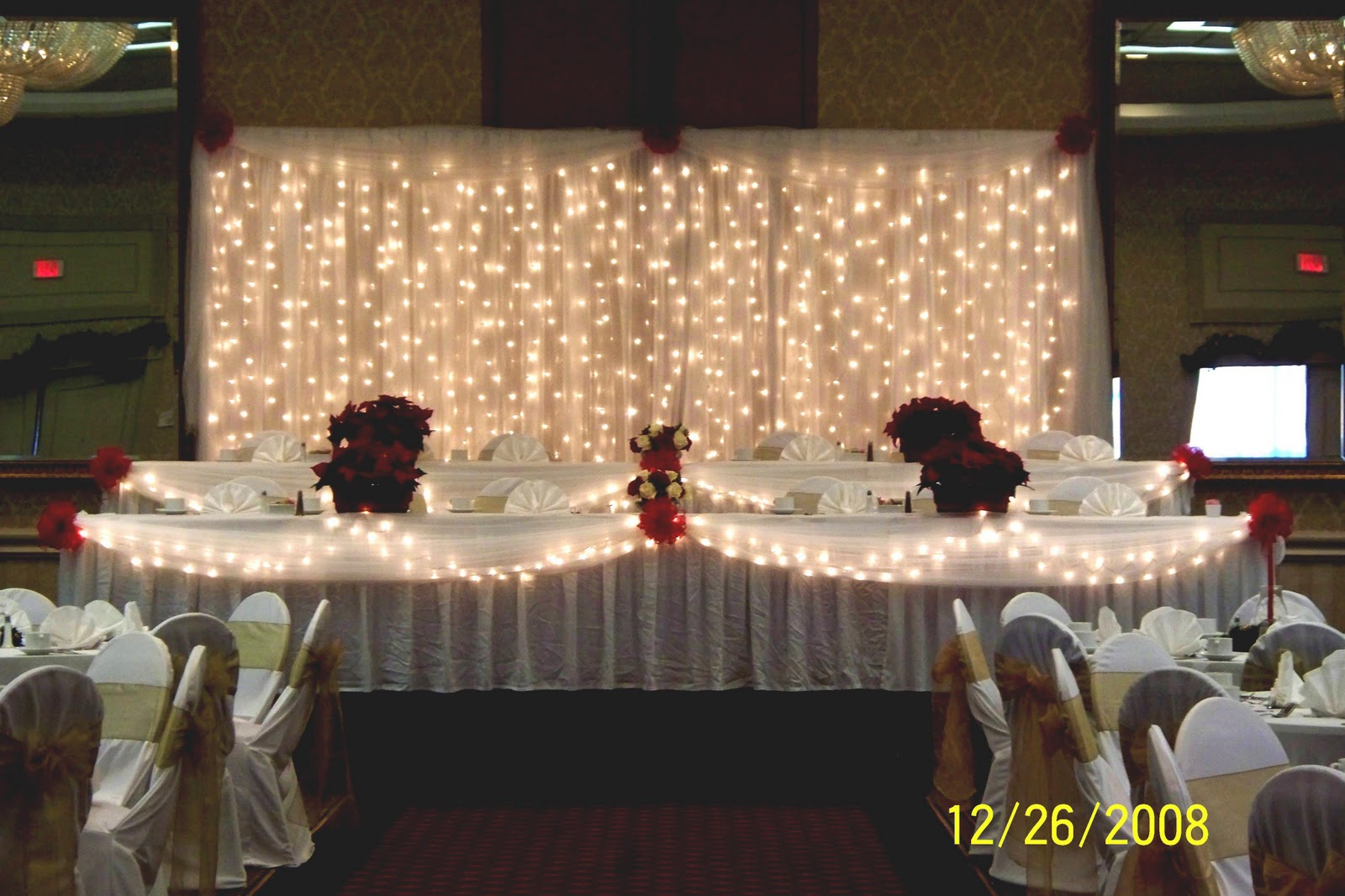 Bride And Groom Head Table Decorations : Decorating Oklahoma Events Wedding  Decor Rentals And Trade Shows