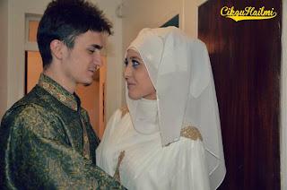 Gambar kahwin Fatih Seferagic