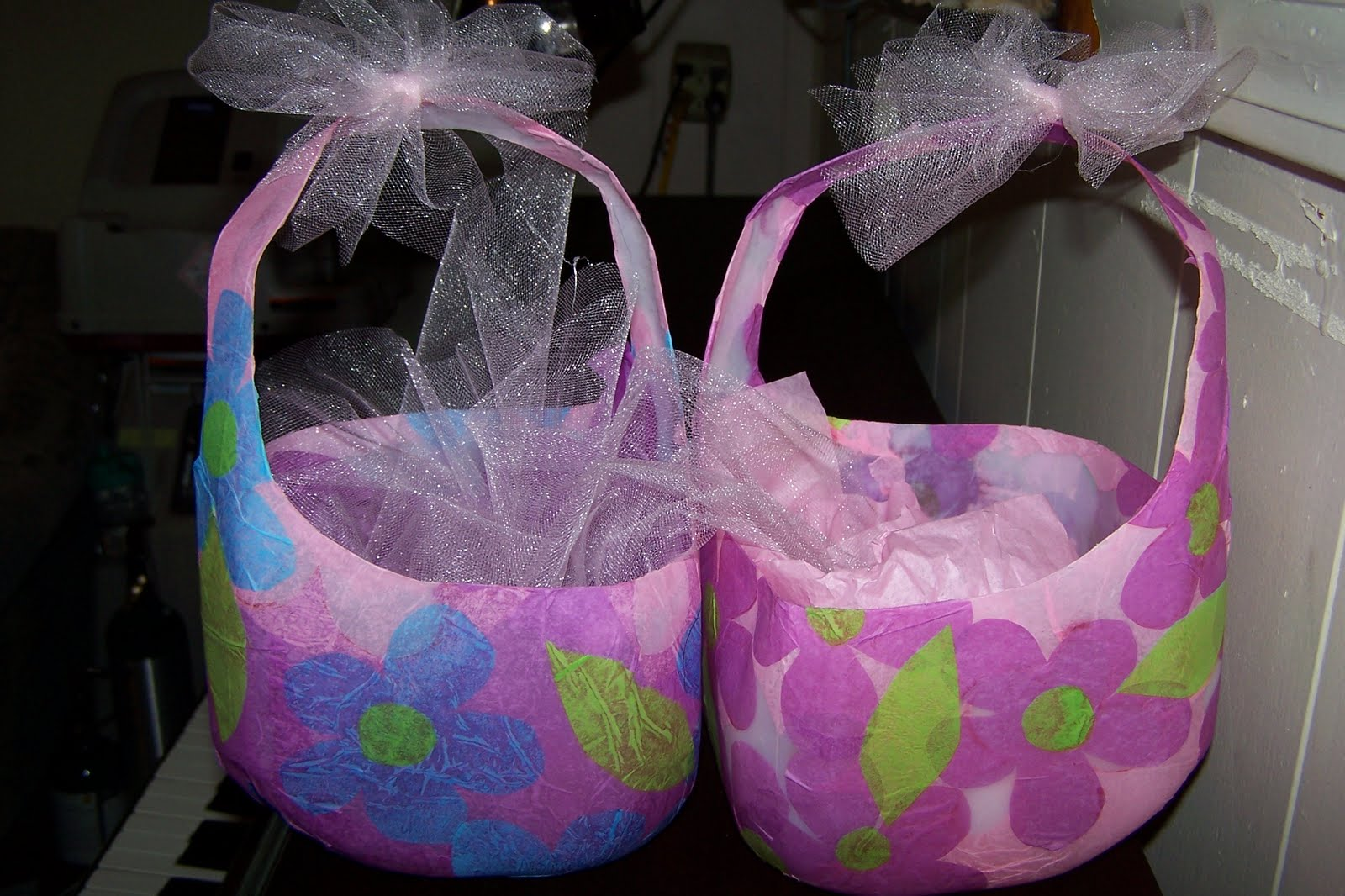 Water jug or milk jug easter baskets i gave to yws today with a water jug or milk jug easter baskets i gave to yws today with a booklet of stories about our savior negle Image collections