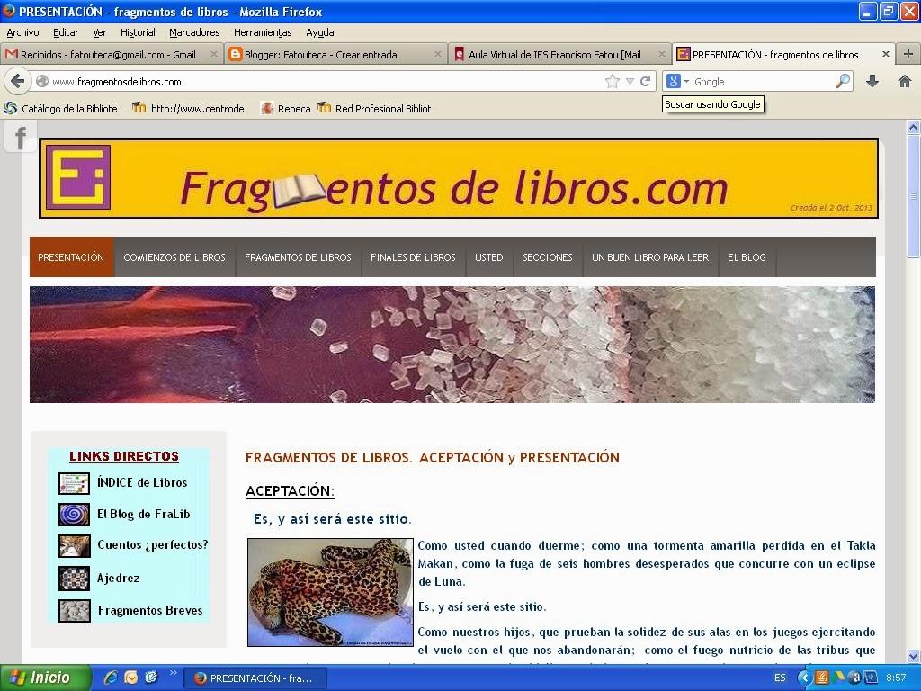 http://www.fragmentosdelibros.com/
